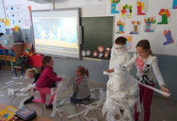 4. mummy party