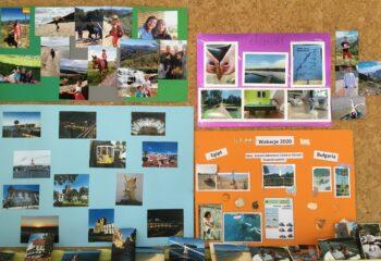 1. Wystawa zdjęć z wakacji